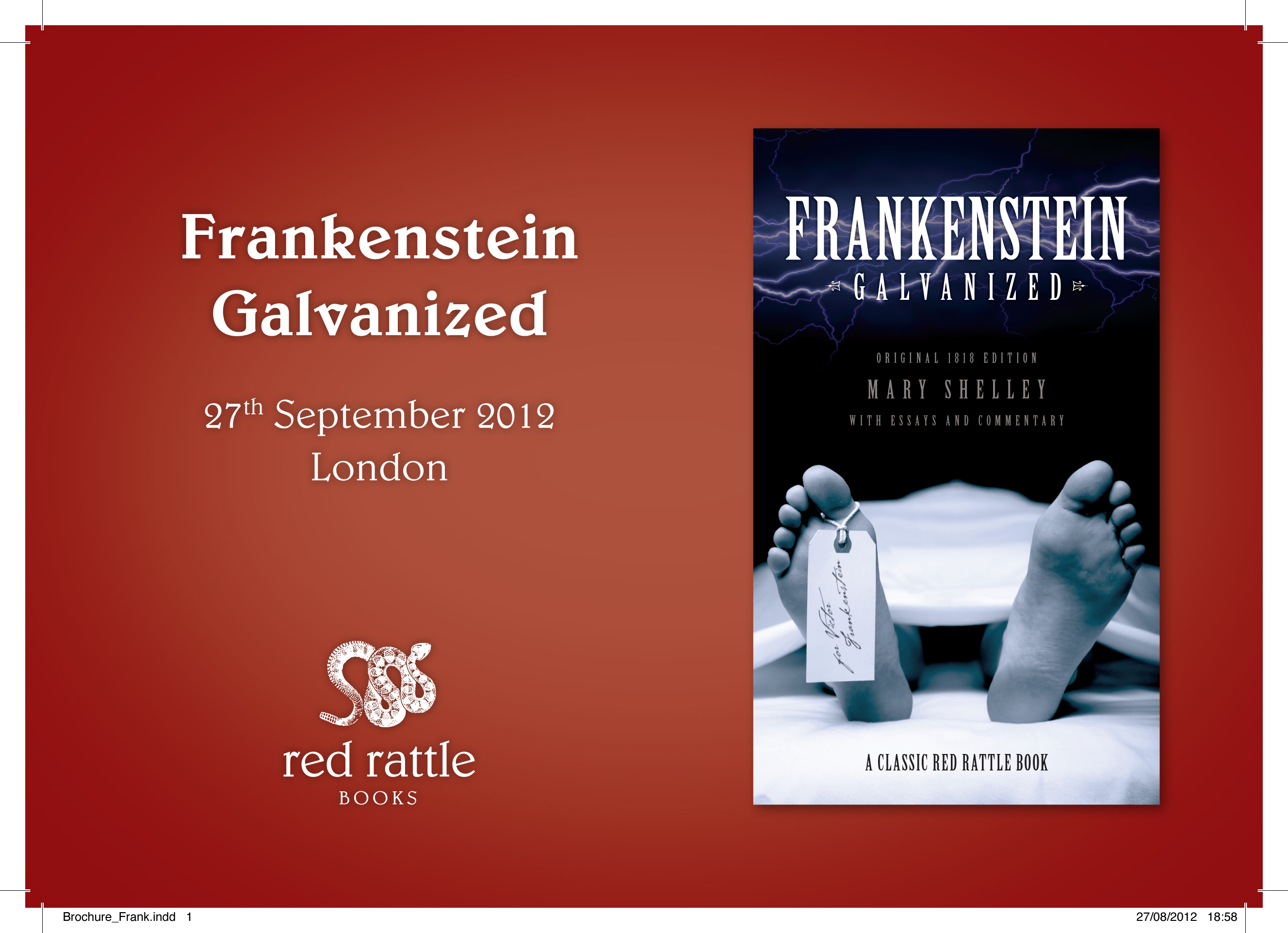 Buy Frankenstein Galvanized from Amazon.com