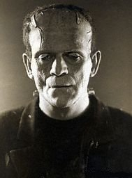 Boris Karloff as the Creature in the 1931 film adaptation.
